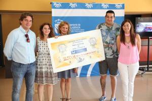 La Asociación de Esclerosis Tuberosa recibe 11.500 euros de la carrera Correcaminos