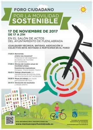 Nuevo modelo de ciudad en el Foro Ciudadano por la Movilidad Sostenible