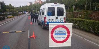La Policía Local desarrolla una campaña de control de alcoholemia y drogas