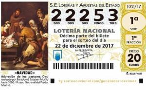 Otro quinto premio en la Lotería de Navidad cae en Fuenlabrada