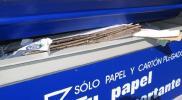Primeros de la Comunidad en recogida de papel y cartón