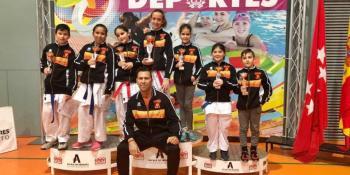 Seiken Do consigue 16 medallas en el Campeonato de Madrid infantil