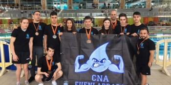 El CNA Fuenlabrada se trae 22 medallas de Lloret de Mar