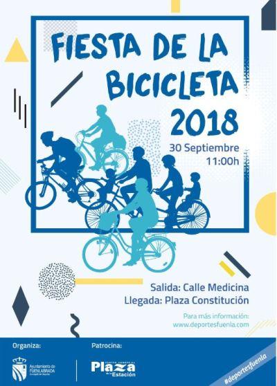 La XXVII Fiesta de la Bicicleta se suma al Go Fuenla Go