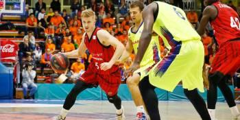 El Montakit Fuenlabrada obliga a hincar la rodillas al invicto Barça