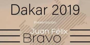 Juan Félix Bravo presenta el domingo su buggy para el Rally Dakar 2019