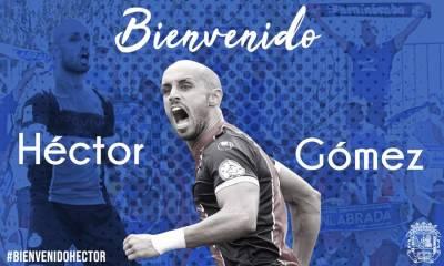Héctor Gómez aterriza en el Fuenla hasta final de temporada