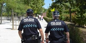 Mayor presencia policial con la activación del programa 'Fuenlabrada para tod@s'