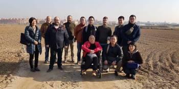 Cooperativistas agrícolas japoneses visitan Fuenlabrada