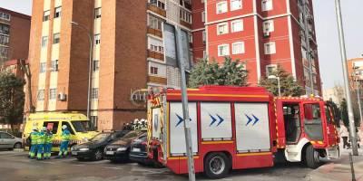 Herido grave un hombre de 53 años por un incendio en su vivienda de Fuenlabrada