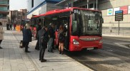 Cuatro nuevos autobuses se suman a la flota de la EMT de Fuenlabrada