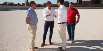 El nuevo campo de fútbol de Loranca estará listo para el último trimestre del año