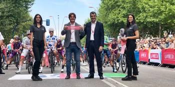 Fuenlabrada se vuelca con la salida de la Vuelta a España