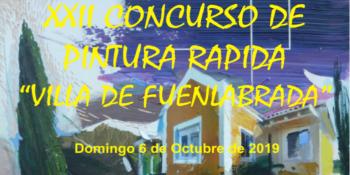 XXII edición del Concurso de Pintura Rápida Villa de Fuenlabrada