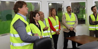 """Adriana Lastra: """"Fuenlabrada es un ejemplo en el tratamiento de los residuos"""""""
