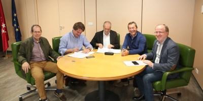 Convenio de colaboración entre el Ayuntamiento y la Fundación AMAS Social