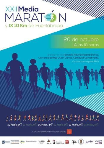 El concejal de Deportes presenta la XXII Media Maratón de Fuenlabrada
