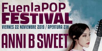 Anni B Sweet protagonizará el viernes el FuenlaPOP Festival