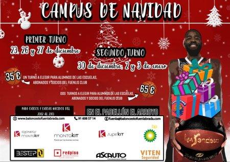 Vuelve el Campus de Navidad del Baloncesto Fuenlabrada