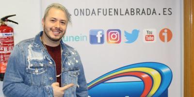 """Mauricio Rivera presenta """"Bailando Pegaito"""" en Onda Fuenlabrada"""