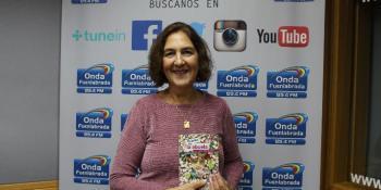 """Virginia Astillero presenta su obra """"El Jardín de la Abuela"""""""