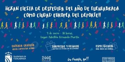Fuenlabrada despide su año deportivo 2019 con una fiesta Go Fuenla Go