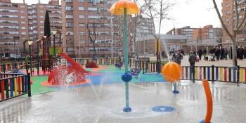 La plaza Saconia estrena nueva imagen tras su remodelación