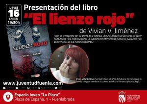 """Vivian Villar presenta su libro """"El lienzo rojo"""""""