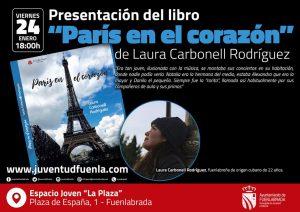 """Laura Carbonell presenta su libro """"Paría en el corazón"""""""