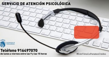 Servicio de atención psicológica en Fuenlabrada