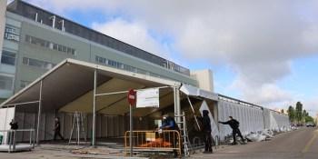 Comienza el desmontaje del Hospital de Campaña de Fuenlabrada