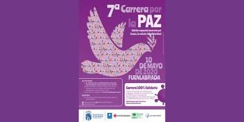 Séptima edición de la Carrera por la Paz en formato virtual