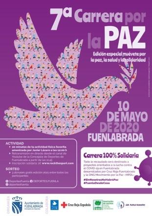 La Carrera por la Paz será este año virtual para luchar contra los efectos del COVID-19