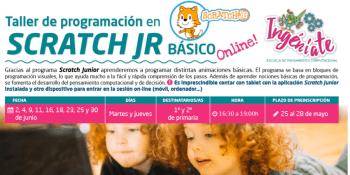 Se abre el plazo de los talleres de Scratch Junior para alumnos de 1º y 2º de primaria