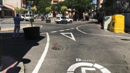 Comienzan los trabajos en las calles de prioridad peatonal en Distrito Centro