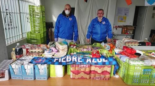 La Peña Fiebre Azul llevará a cabo una recogida de alimentos