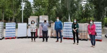 Mercadona dona 9,5 toneladas de alimentos a San Ricardo Pampuri