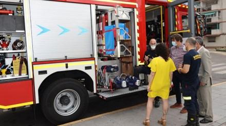 Un nuevo camión se suma a la flota del Parque de Bomberos de Fuenlabrada