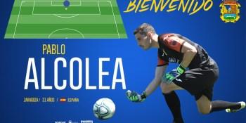 El CF. Fuenlabrada ficha al portero Pablo Alcolea hasta final de temporada