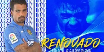 Iban Salvador renueva dos temporadas más con el Fuenlabrada