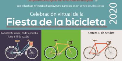 Fuenlabrada celebra este año la Fiesta de la Bicicleta de manera virtual