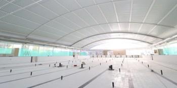 A finales de mes estarán concluidas las obras de reforma de la piscina municipal