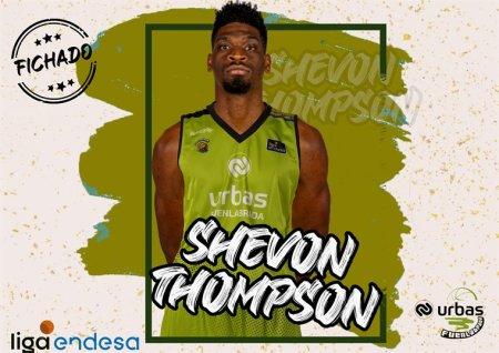 El Urbas Fuenlabrada ficha a Shevon Thompson hasta final de temporada