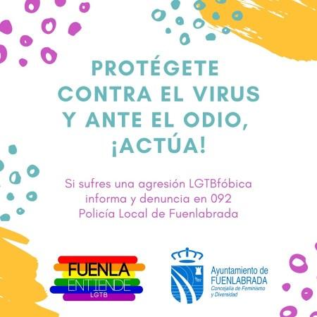 Fuenla Entiende lanza una campaña en contra de los delitos de odio