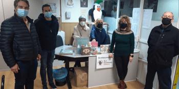 Recogidos 1.200 juguetes y más de 1.500 kilos de productos navideños en la campaña de la Red Solidaria de Fuenlabrada