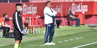 Sandoval analiza la primera vuelta del CF Fuenlabrada