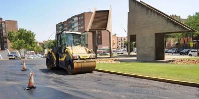 200.000 neumáticos reutilizados en obras en Fuenlabrada