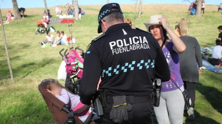 Dispositivo especial de la Policía Local para el día de Santa Juana
