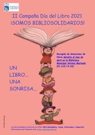 Un libro en Fuenlabrada, una sonrisa en…, campaña de recogida de libros solidarios