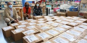 La campaña Bibliosolidarios consigue recaudar cerca de 21.500 libros y material audiovisual